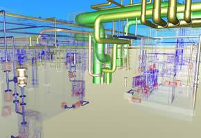 設計図及び施工図作成実績(CAD)1
